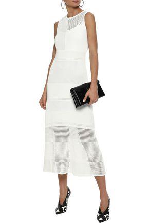 PROENZA SCHOULER Open-knit midi dress