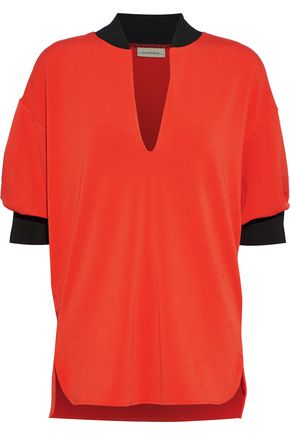 BY MALENE BIRGER Billum crepe-jersey top