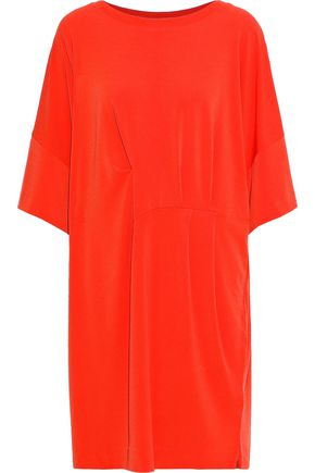 BY MALENE BIRGER Pleated stretch-jersey mini dress