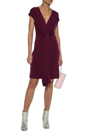 BY MALENE BIRGER Knotted stretch-jersey dress