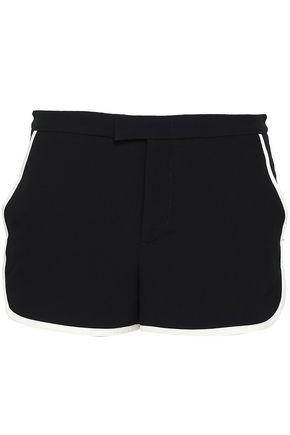 REDValentino Satin-crepe shorts