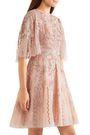ZUHAIR MURAD Cutout embellished organza mini dress