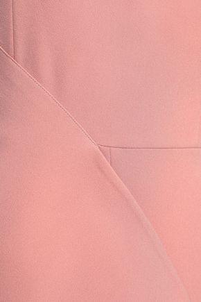 SAFIYAA One-shoulder draped crepe jumpsuit
