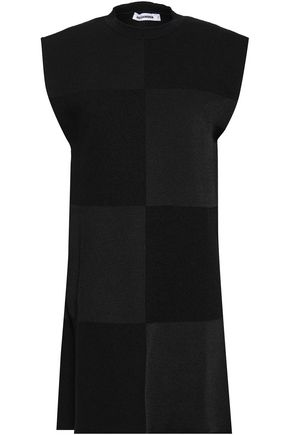 JIL SANDER Patchwork knitted top