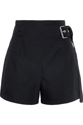 3.1 PHILLIP LIM Buckled twill shorts