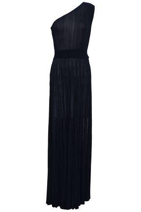 buy popular 92ec4 678f2 One-shoulder ribbed-knit maxi dress   ANTONINO VALENTI ...