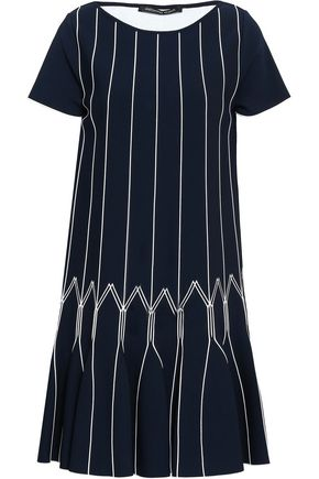 ANTONINO VALENTI Flared knitted mini dress