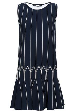 ANTONINO VALENTI Fluted knitted mini dress