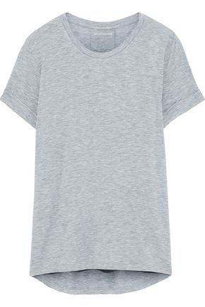 MAJESTIC FILATURES Pleated stretch-jersey T-shirt