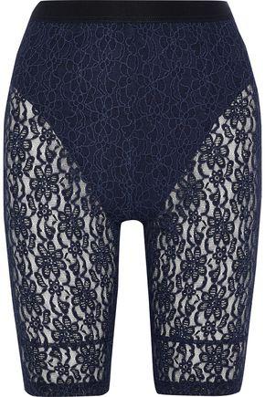 NINA RICCI Embroidered lace shorts