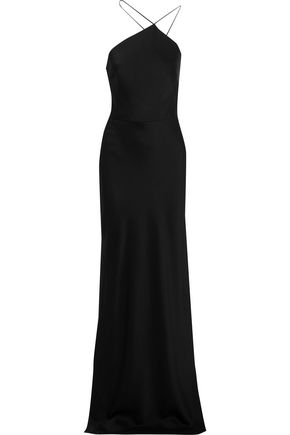 JASON WU Satin-crepe slip gown
