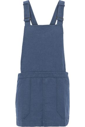 MAJESTIC FILATURES Linen mini dress