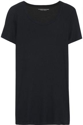 MAJESTIC FILATURES Ribbed-knit T-shirt