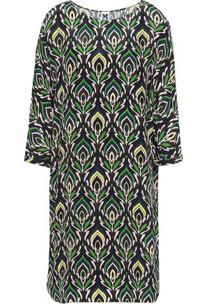 M MISSONI Printed silk dress