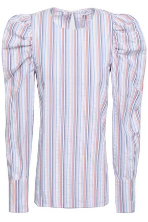 CLAUDIE PIERLOT Striped cotton blouse
