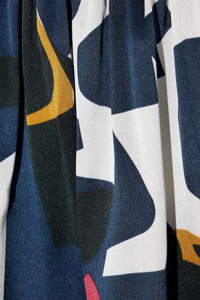 ROKSANDA Natani printed silk-satin mini dress
