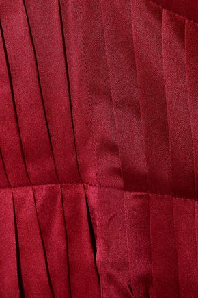 ROKSANDA Mihara open-back striped silk-satin midi dress