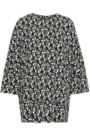 MARNI Floral-print crepe blouse