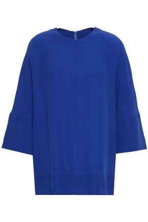 MARNI Satin-crepe top