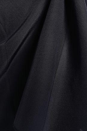 MARNI Asymmetric silk crepe de chine top
