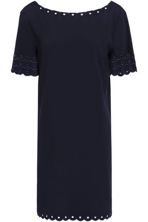 CLAUDIE PIERLOT Embroidered cady mini dress