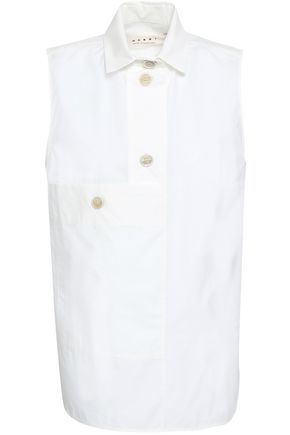 MARNI Cotton-poplin shirt