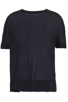 MARNI Slub cotton-jersey T-shirt