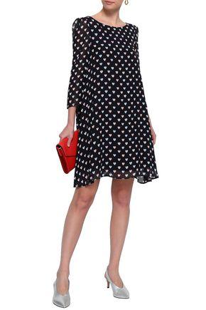 CLAUDIE PIERLOT Printed georgette mini dress
