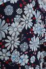 CLAUDIE PIERLOT Bow-embellished floral-print georgette jumpsuit