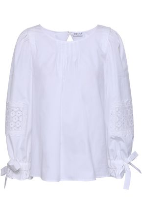 CLAUDIE PIERLOT Cotton-poplin blouse