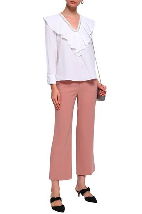 CLAUDIE PIERLOT Ruffled cotton blouse