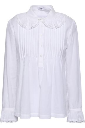 CLAUDIE PIERLOT Pintucked cotton shirt