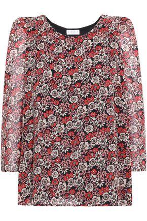 CLAUDIE PIERLOT Floral-print georgette blouse
