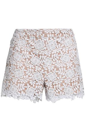 ALICE + OLIVIA Guipure lace shorts