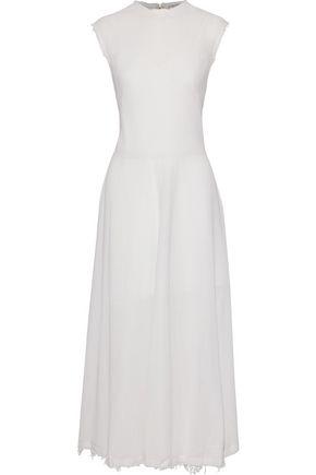 NINA RICCI Cotton-gauze maxi dress