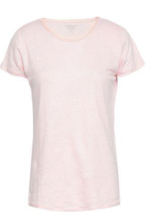 MAJESTIC FILATURES Stretch-linen jersey T-shirt