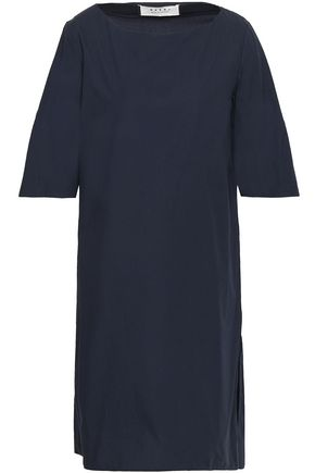 MARNI Pleated cotton-poplin mini dress