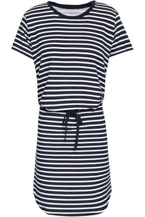 MAJESTIC FILATURES Striped stretch-jersey mini dress