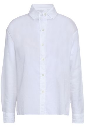 MAJESTIC FILATURES Cotton-mousseline shirt