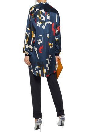 ROKSANDA Nakata printed silk-satin tunic