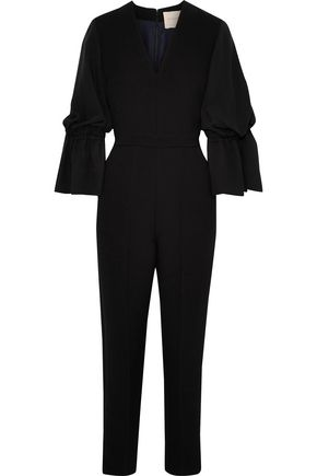ROKSANDA Margot fluted crepe jumpsuit
