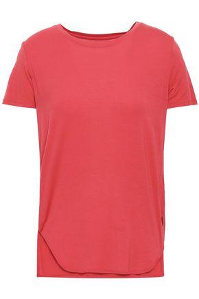 MAJESTIC FILATURES Mélange cotton-jersey T-shirt