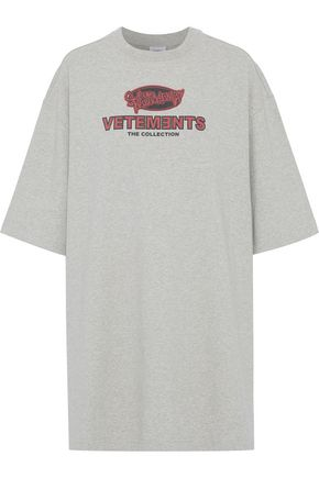 VETEMENTS Printed cotton-jersey T-shirt