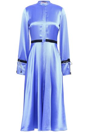 ROKSANDA Silk satin-crepe midi dress
