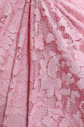 GANNI Flynn lace dress
