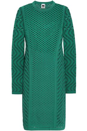 M MISSONI Open-knit mini dress