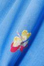 GANNI Joycedale floral-print silk crepe de chine shirt