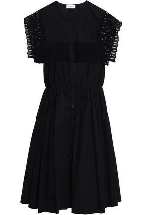 SANDRO Ribbed-knit maxi dress