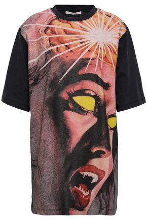 CHRISTOPHER KANE Printed cotton-jersey T-shirt
