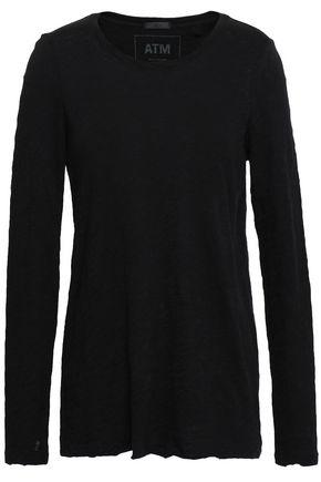 ATM ANTHONY THOMAS MELILLO Slub cotton-jersey top